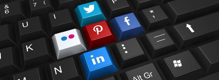 Az online marketing része a közösségi média